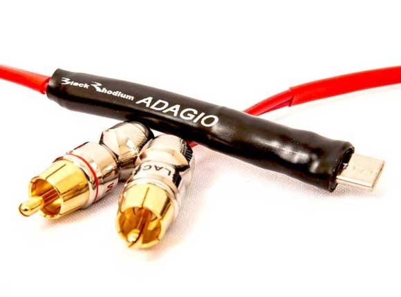 Black Rhodium Adagio USB-C RCA